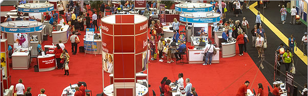 AARP Exhibit Hall