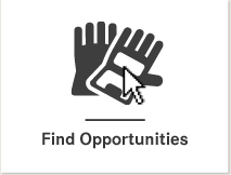 Image of mouse pointing to the new 'Find Opportunities' icon