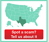 Spot a scam? Tell us about it