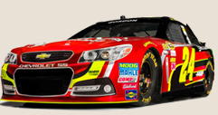 New Look for No. 24 Drive to End Hunger Chevrolet