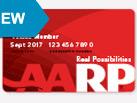 NEW: Enhanced membership card