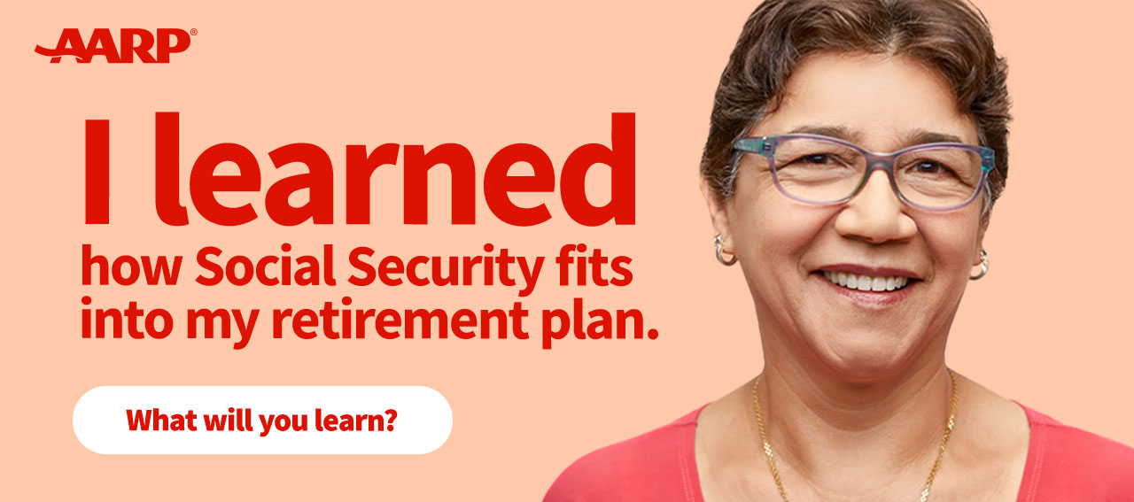 I learned how Social Security fits into my retirement plan. What will you learn? Click here to register.
