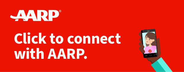 Click to connect with AARP.