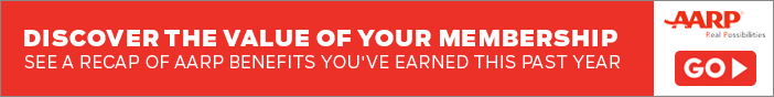 Discover The Value of Your Membership / See a Recap of AARP Benefits You've Earned This Past Year.