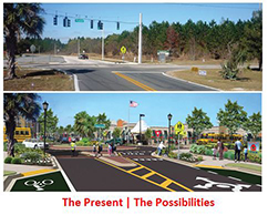 Solutions for Transforming Suburban Streets and Commercial Strips